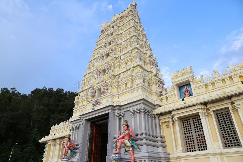 Minakshi Sundareshvara Temple - Madurai - India. The Minakshi Sundareshvara Hindu Temple in Madurai in the Tamil Nadu region of Southern India royalty free stock image