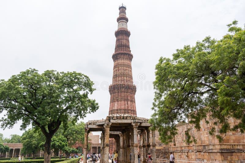 minar Delhi qutub fotografia royalty free