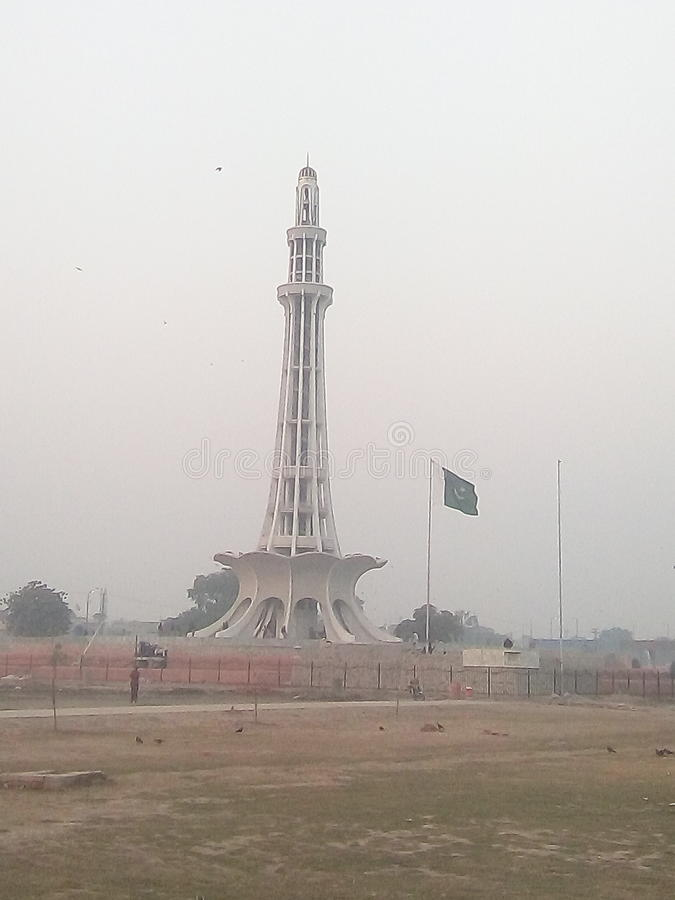 Minar e Пакистан стоковое фото rf