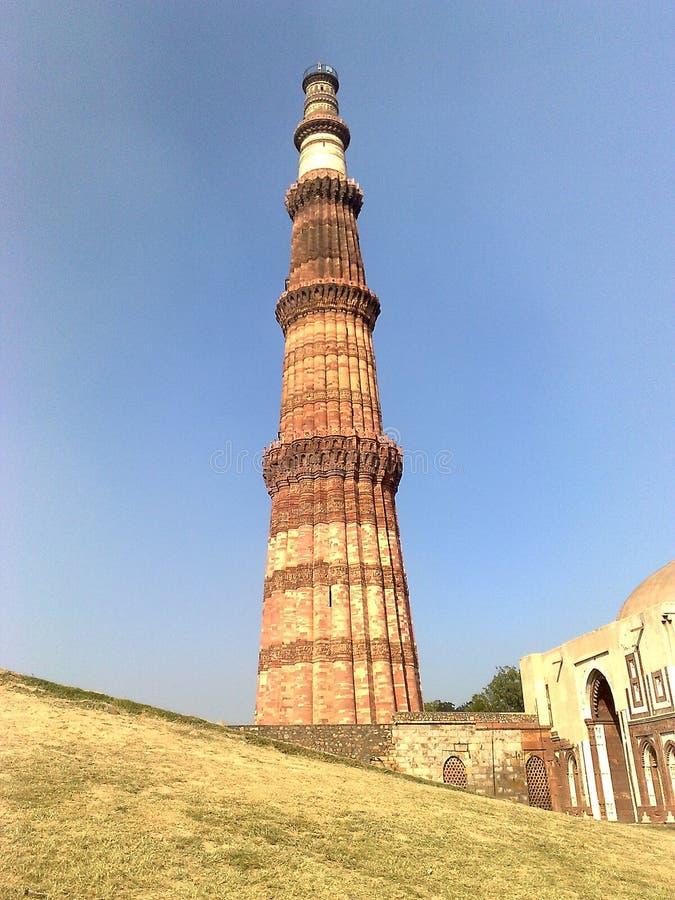 Minar Qutab stock foto's