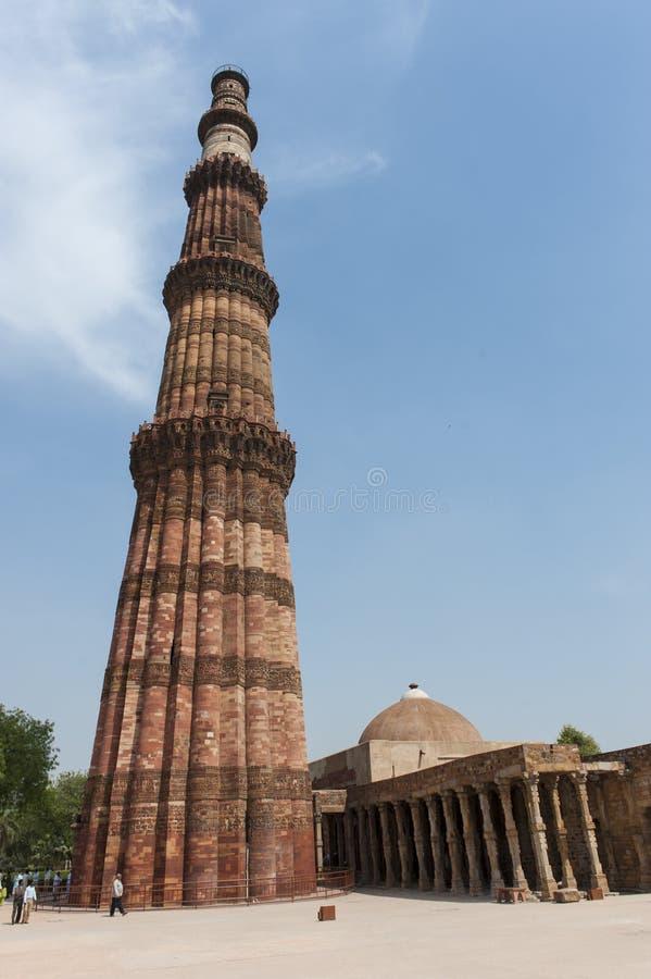 minar qutb του Δελχί στοκ εικόνες