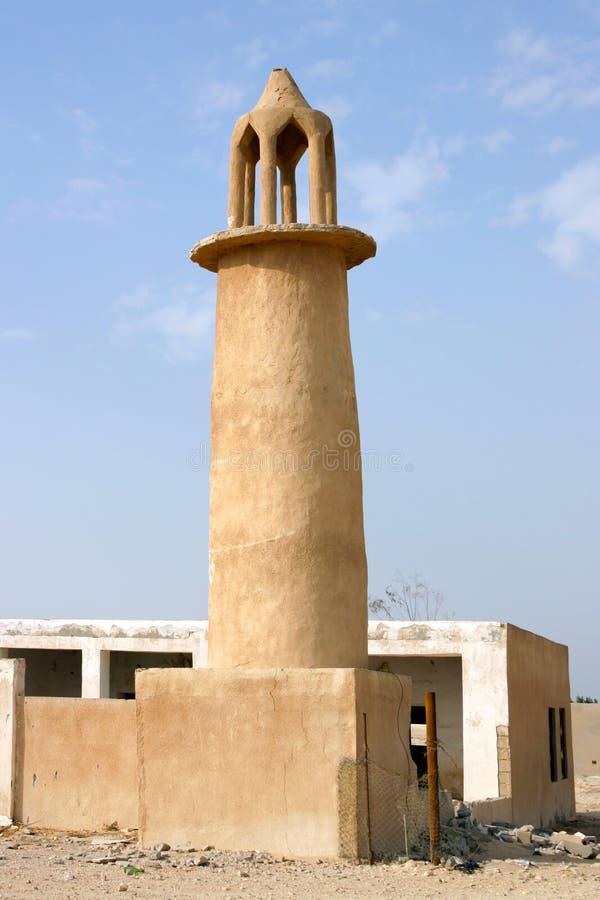 Minarat abandonado fotos de archivo libres de regalías
