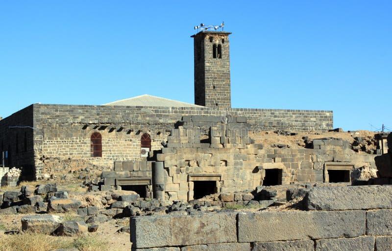 minaret royaltyfria bilder