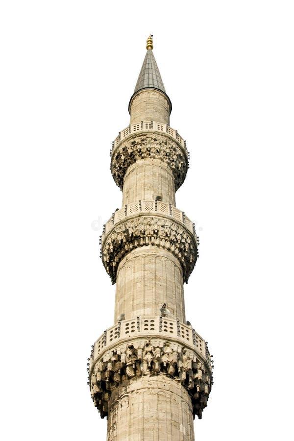 Minaret stock afbeelding
