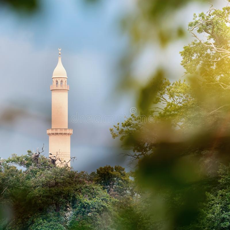 Download Minaret stock image. Image of architecture, culture, blue - 26747949