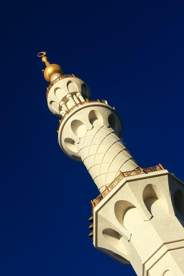 Minaret royaltyfri fotografi