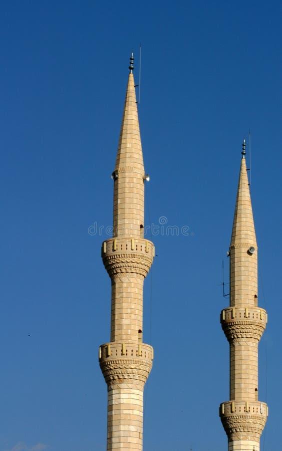 Minaret stock afbeeldingen