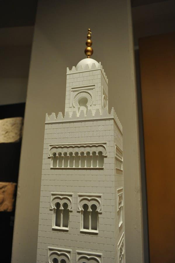 Minaret av moskén av Cordoba, Spanien fotografering för bildbyråer