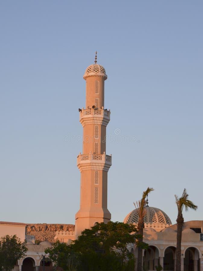 Minaret d'une mosquée photographie stock libre de droits
