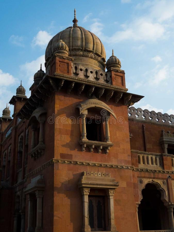 Minaret de Mahatma Gandhi Hall, Indore photographie stock libre de droits