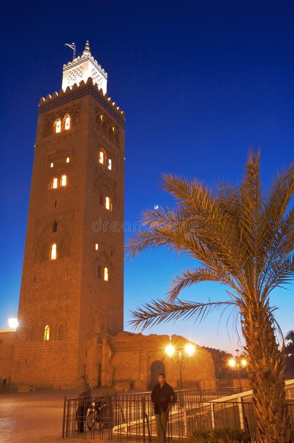 Minaret III van de Moskee van de boekhandelaar stock afbeeldingen