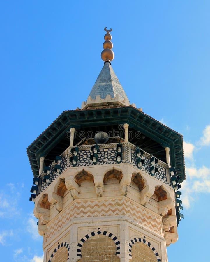 Minaret royalty free stock image