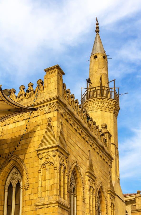 Free Minaret Of The Al-Hussein Mosque In Cairo Stock Photo - 50754150