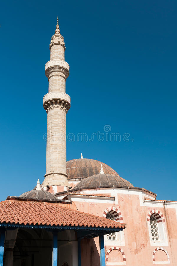 Minaret Rhodes royalty free stock images