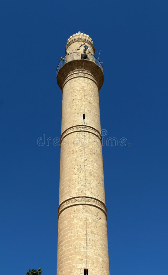 Download The Minaret Of Sheikh Cabuk Mosque, Mardin. Stock Image - Image of prayer, architecture: 28833865