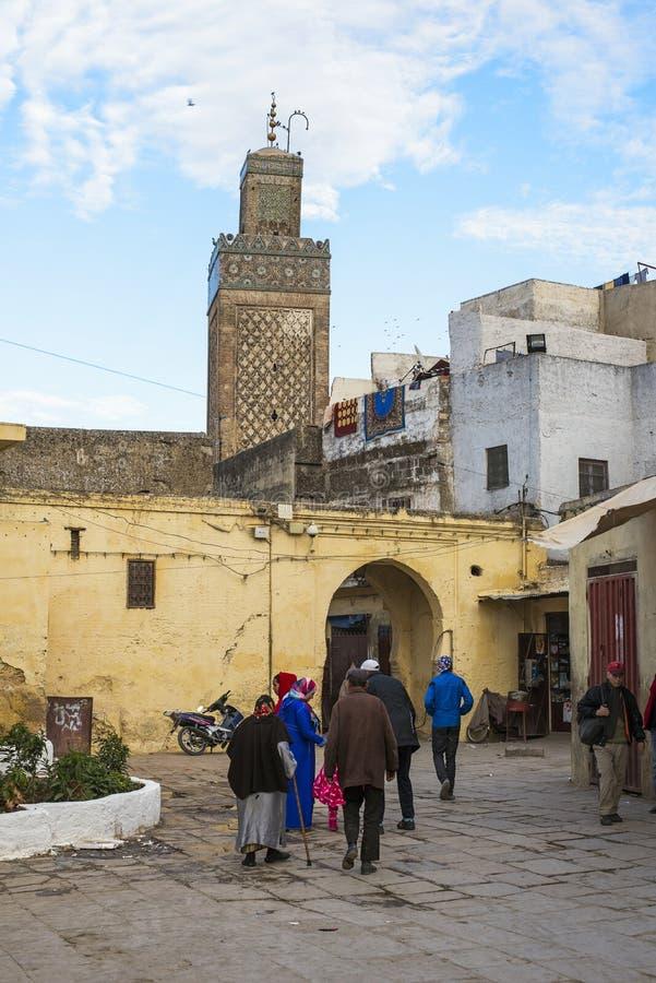 Download Minarete Da Mesquita De Bab Moulay Abdellah No EL Jdid Do Fez Marrocos Fotografia Editorial - Imagem de religião, quotidian: 65575227