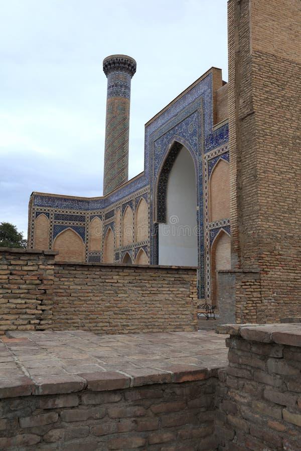 Minarete do Amir de Guri imagens de stock