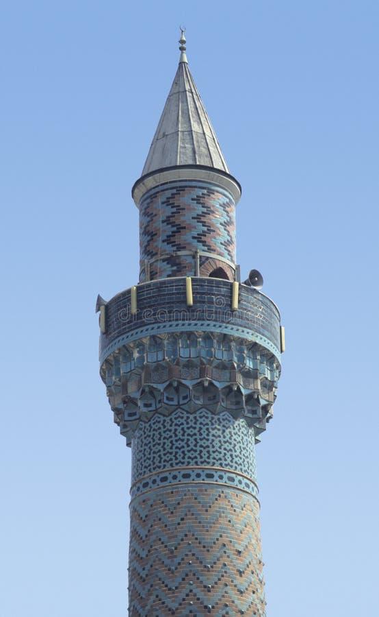 Minarete turco antigo fotos de stock