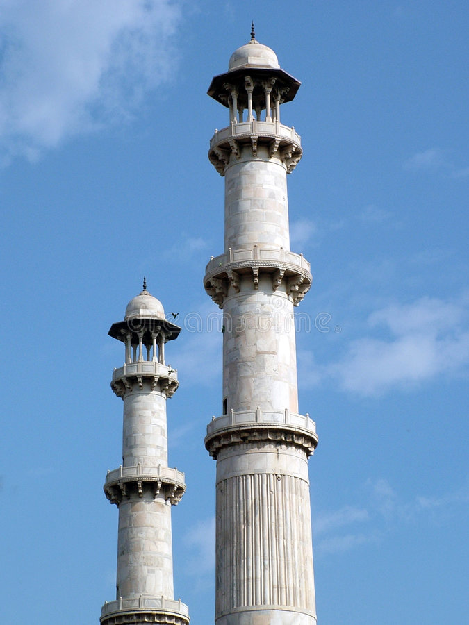 Minaretes, India Imagem de Stock Royalty Free