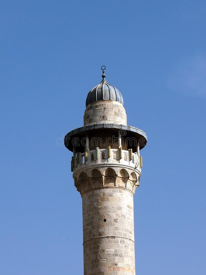 Minareto, Betlemme immagine stock libera da diritti