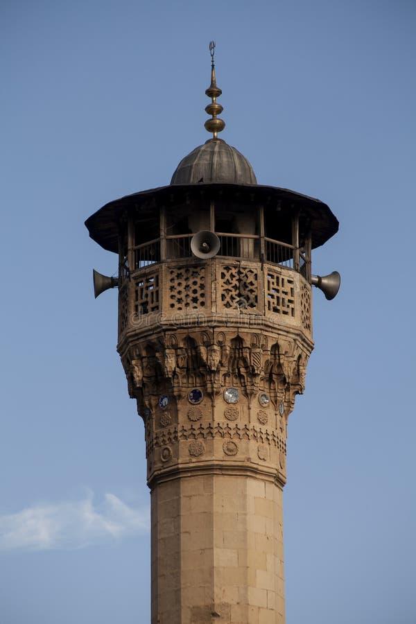 Minareto della moschea di Boyaci fotografie stock