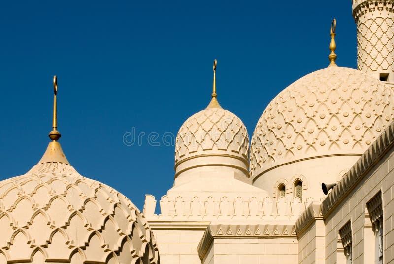 Minareto della moschea, Doubai fotografia stock libera da diritti