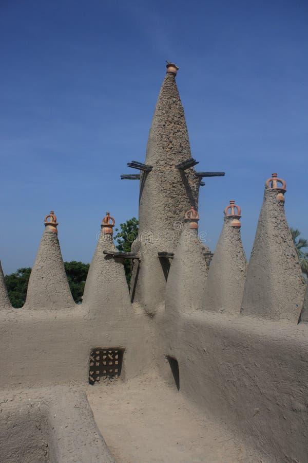 Minareto di un mosk tradizionale immagini stock