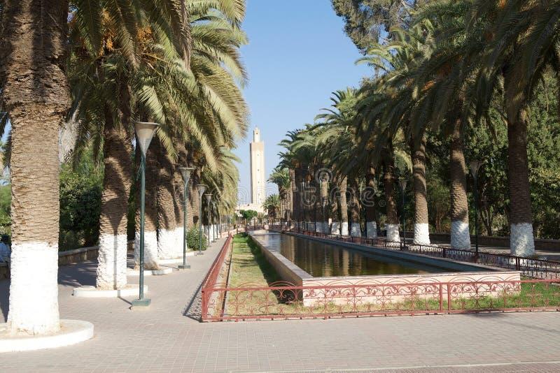 Minareto in Taroudant immagine stock libera da diritti