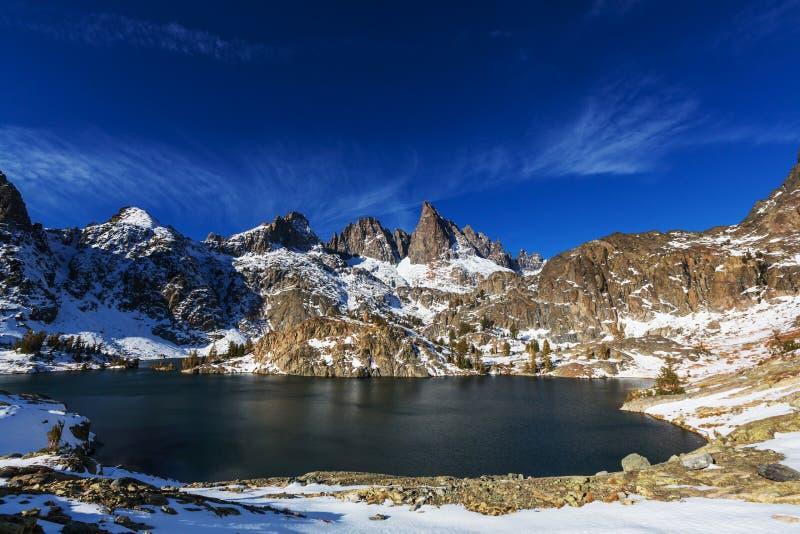 Minaretowy jezioro obraz royalty free