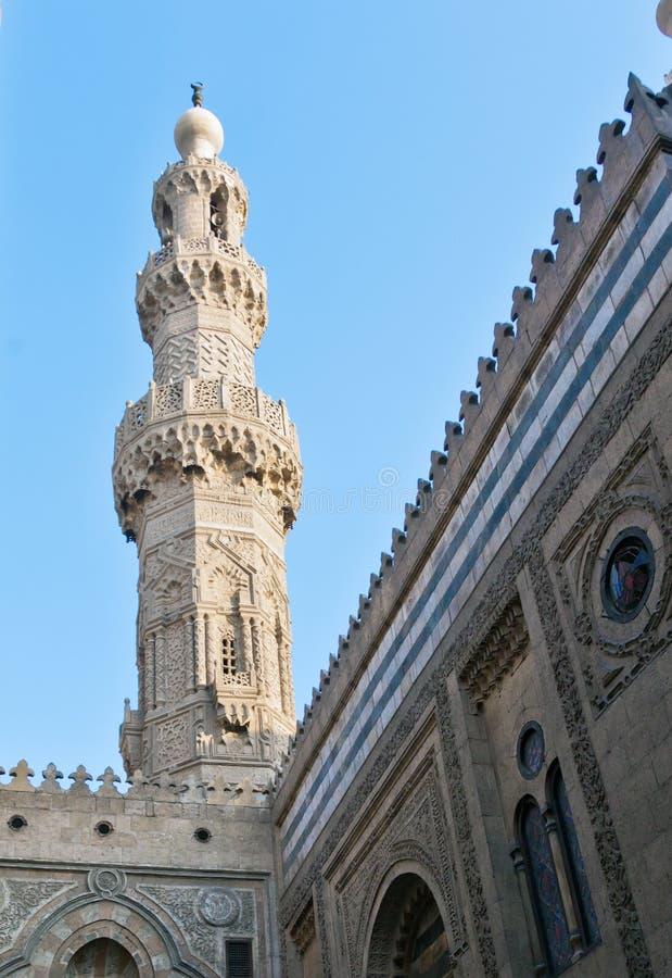 Minaretowy meczet obrazy stock