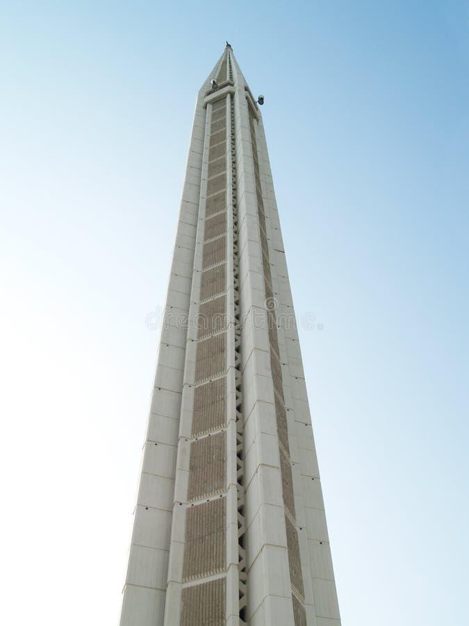 minaretowy meczetu zdjęcie stock
