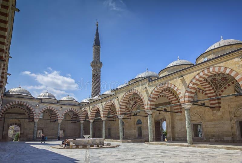 Minaretowy wewnętrzny podwórze obrazy royalty free