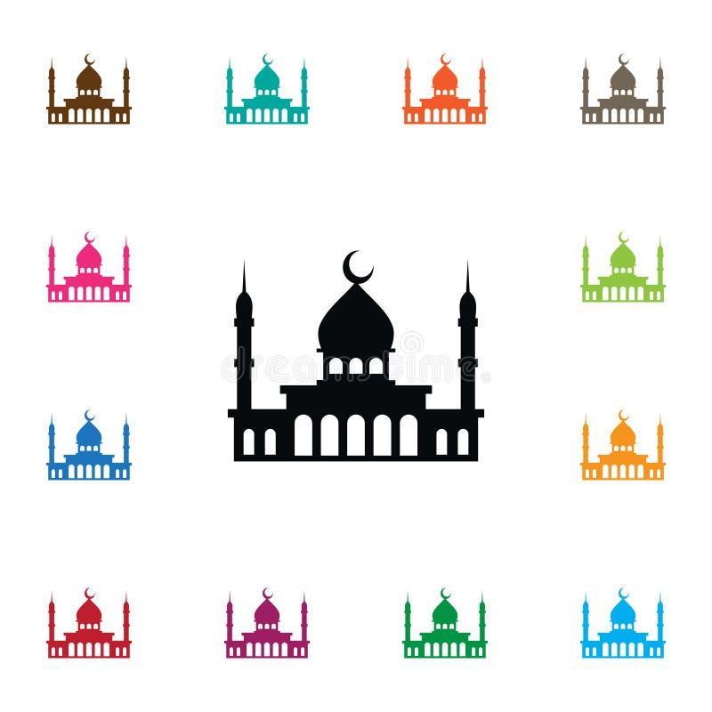 Minaretpictogram Kan het islam Vectorelement voor Minaret, Moskee, het Concept van het Islamontwerp worden gebruikt stock illustratie