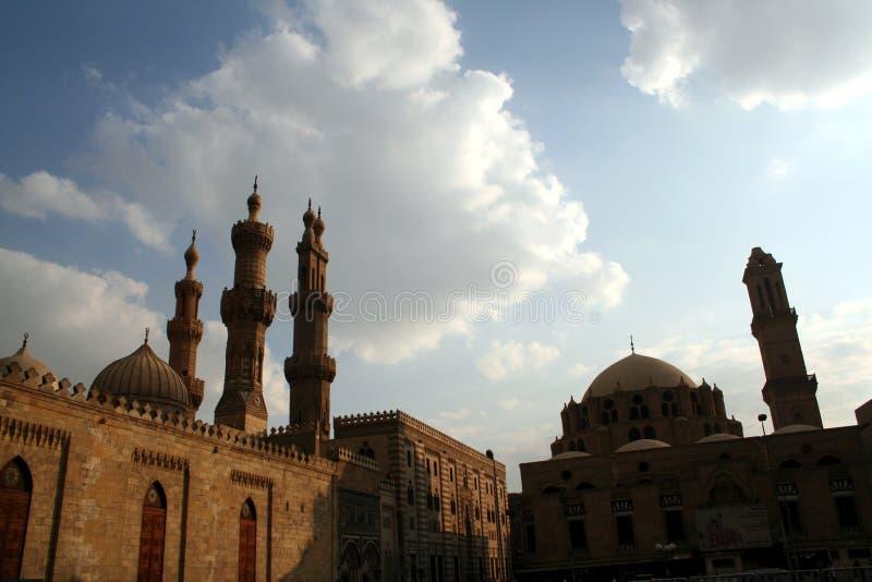 Minarets of cairo 1 stock photography