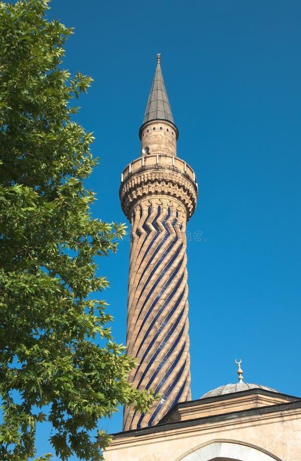 Minarets de mosquée dans Afyon, Turquie photo libre de droits