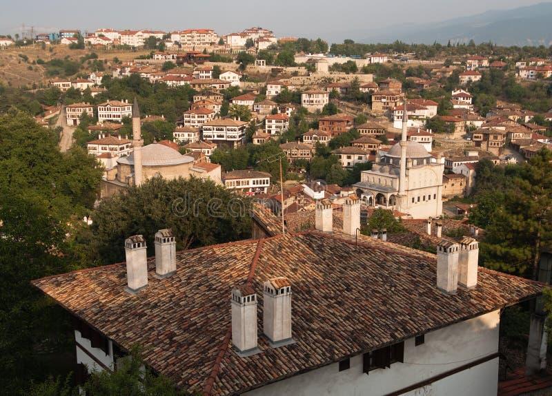 Minarets In Old City Safranbolu, Turkey stock photography