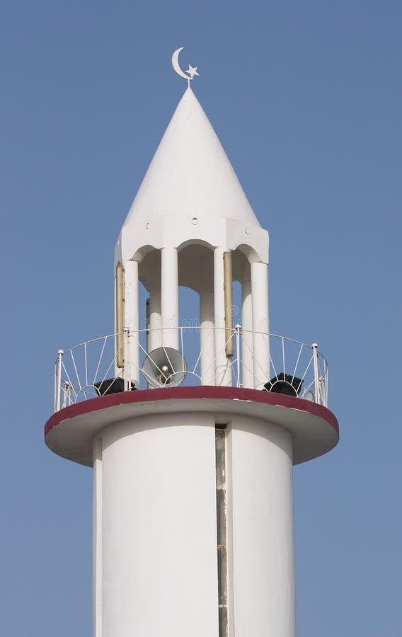 Download Minarett in Qatar stockbild. Bild von qatar, lautsprecher - 38597