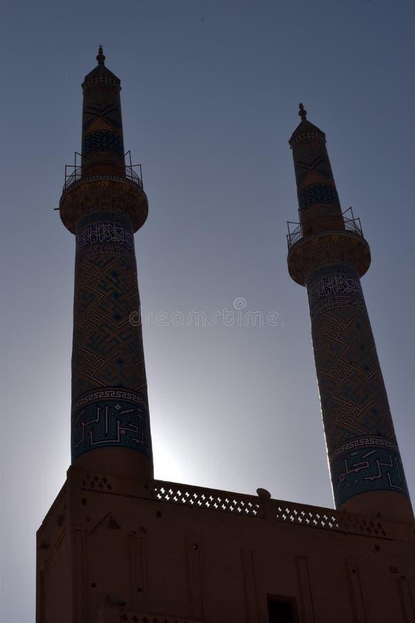 Minarety w Iran obrazy royalty free