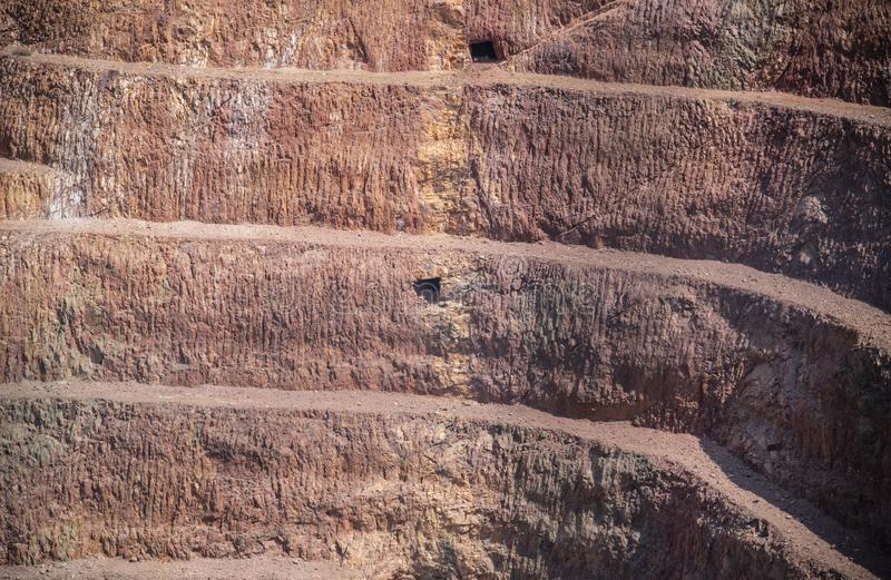 Minas de ouro em Cobar, Nova Gales do Sul, Austrália foto de stock