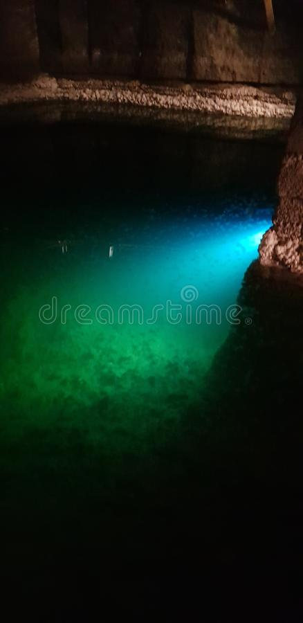Minas de sal, Karkow, Polônia foto de stock
