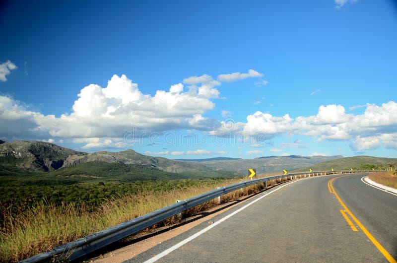 Minas Gerais Road image libre de droits