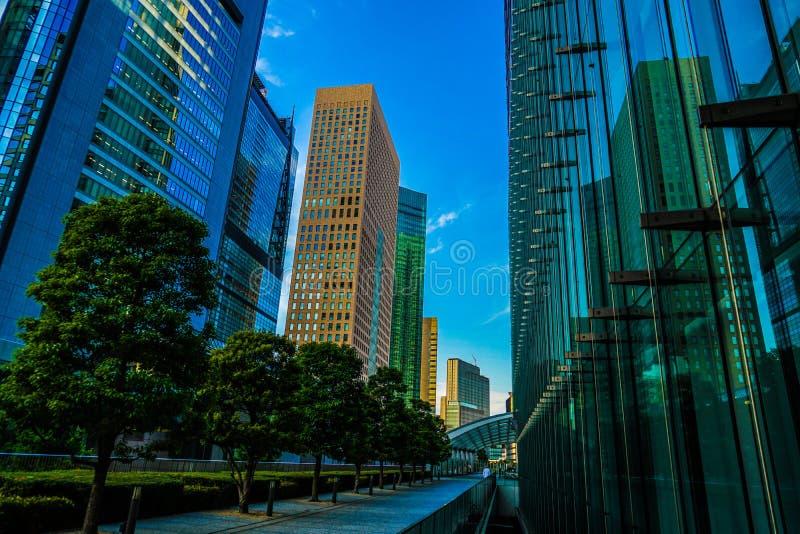 Minato-ku et groupes de bâtiments de Shiodome photos stock