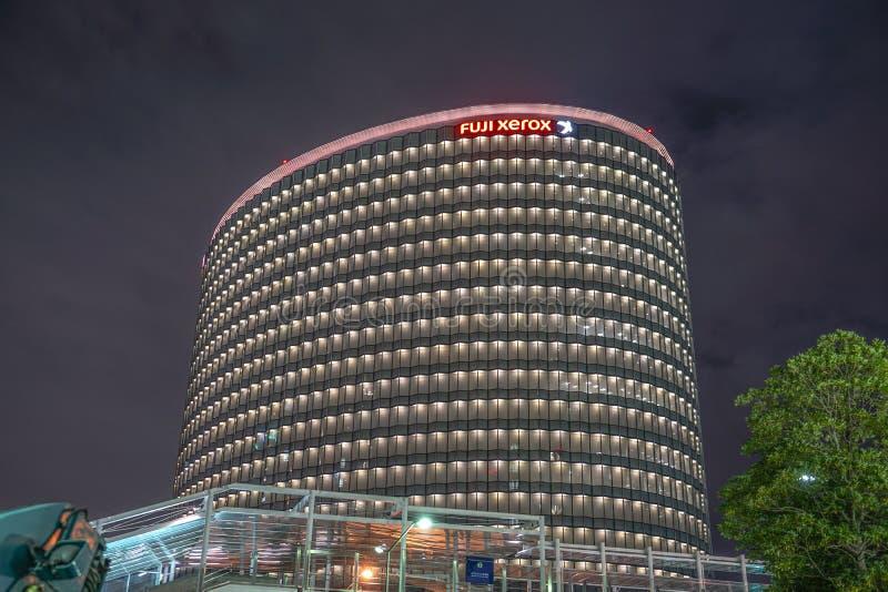 Minato Mirai of office building. Shooting location : Japan: Yokohama stock image
