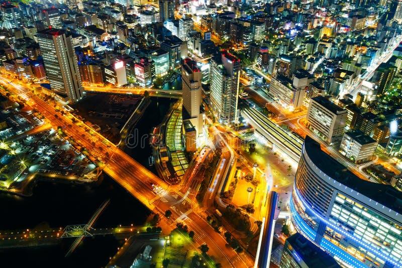 Minatomirai-Bereich in Yokohama, Japan stockfotos