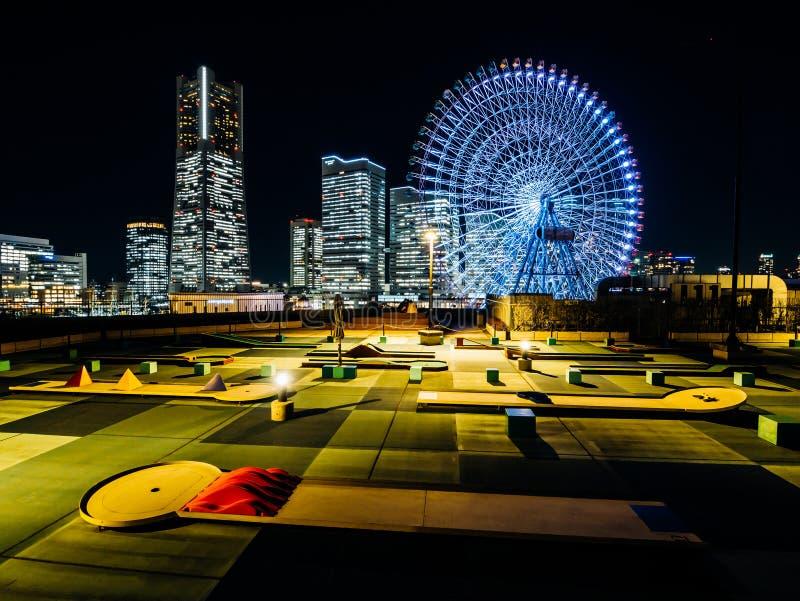 Minatomirai Yokohama Japan arkivbild