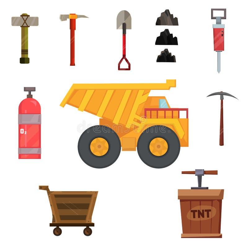 Minatore Pack illustrazione di stock
