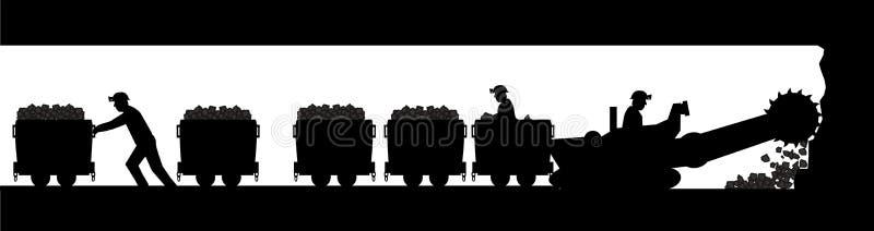 minatori royalty illustrazione gratis