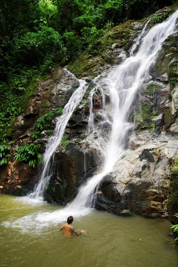 Free MINCA, COLOMBIA, 14 AUGUST, 2018: Cascada De Marinka, One Of The Attraction Of Minca. Stock Image - 125441381