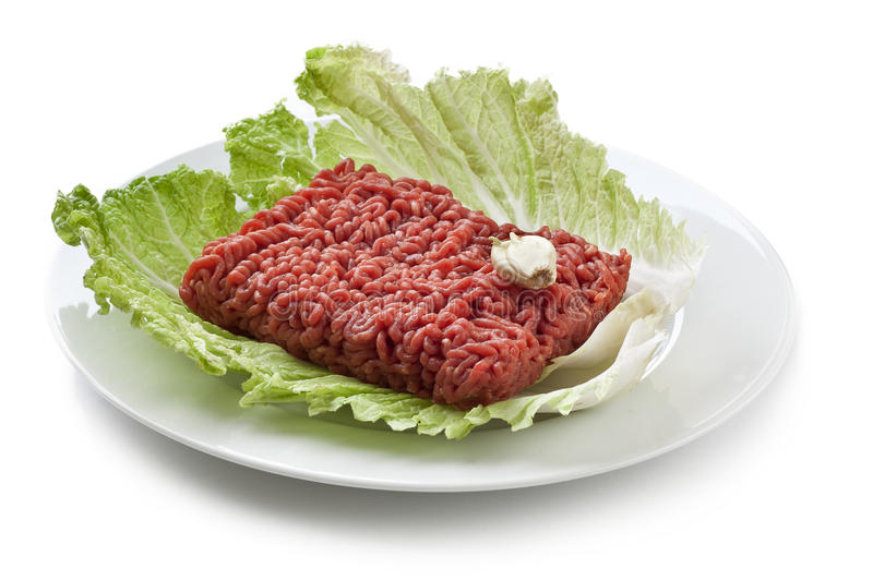 Minced Beef Royalty Free Stock Image