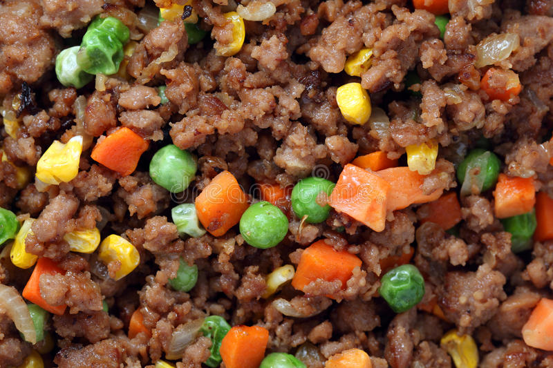 Download Minced Beef stock photo. Image of heap, gourmet, brown - 33554528